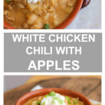 chicken chili with apples