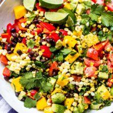 Avocado Lime Salad Recipe