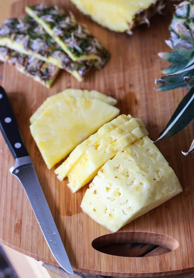 Pineapple Bruschetta