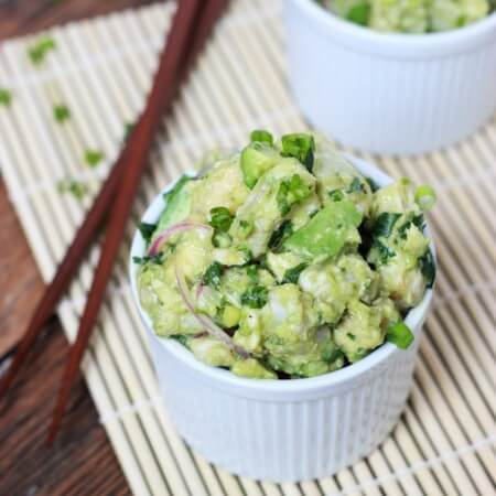 Fresh Tuna and Avocado Salad littlebroken.com
