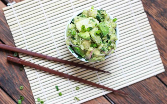Fresh Tuna and Avocado Salad littlebroken.com @littlebroken