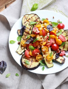 Grilled Summer Salad with Greek Vinaigrette_littlebroken