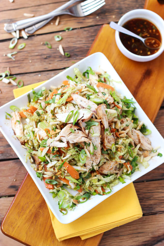 chicken napa cabbage salad recipe