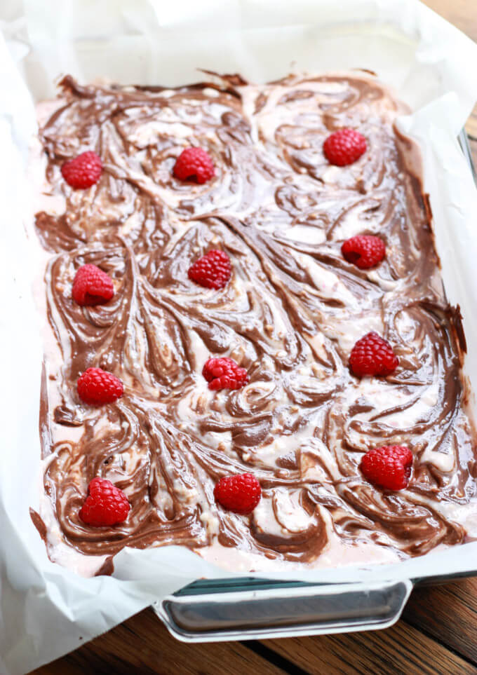 Raspberry Cheesecake Brownie | littlebroken.com @littlebroken