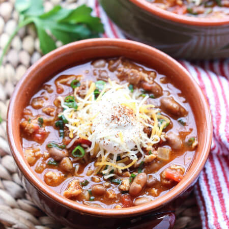 30-Minute Meat Lovers Chili