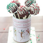 Day 12 of 12 Days of Cookies: Christmas Cake Pops (How To Without Cake Pop Baking Pan)