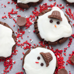 Day 7 of 12 Days of Cookies: Melting Snowmen Cookies