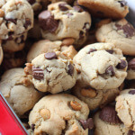Day 3 of 12 Days of Cookies: Triple-Peanut and Chocolate Chip Cookies