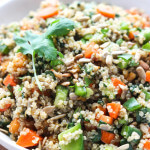 Chopped Vegetable Quinoa Salad