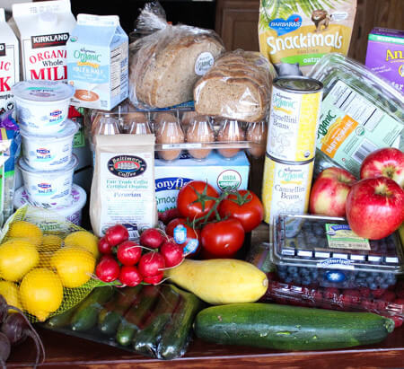7 Tips for Clean Eating Grocery Shopping + Look Inside My Fridge!