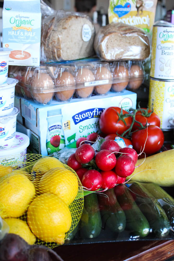 7 Tips for Clean Eating Grocery Shopping | littlebroken.com @littlebroken