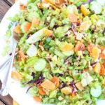 Mandarin Peanut-Crunch Salad