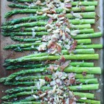 Easy Parmesan and Prosciutto Roasted Asparagus