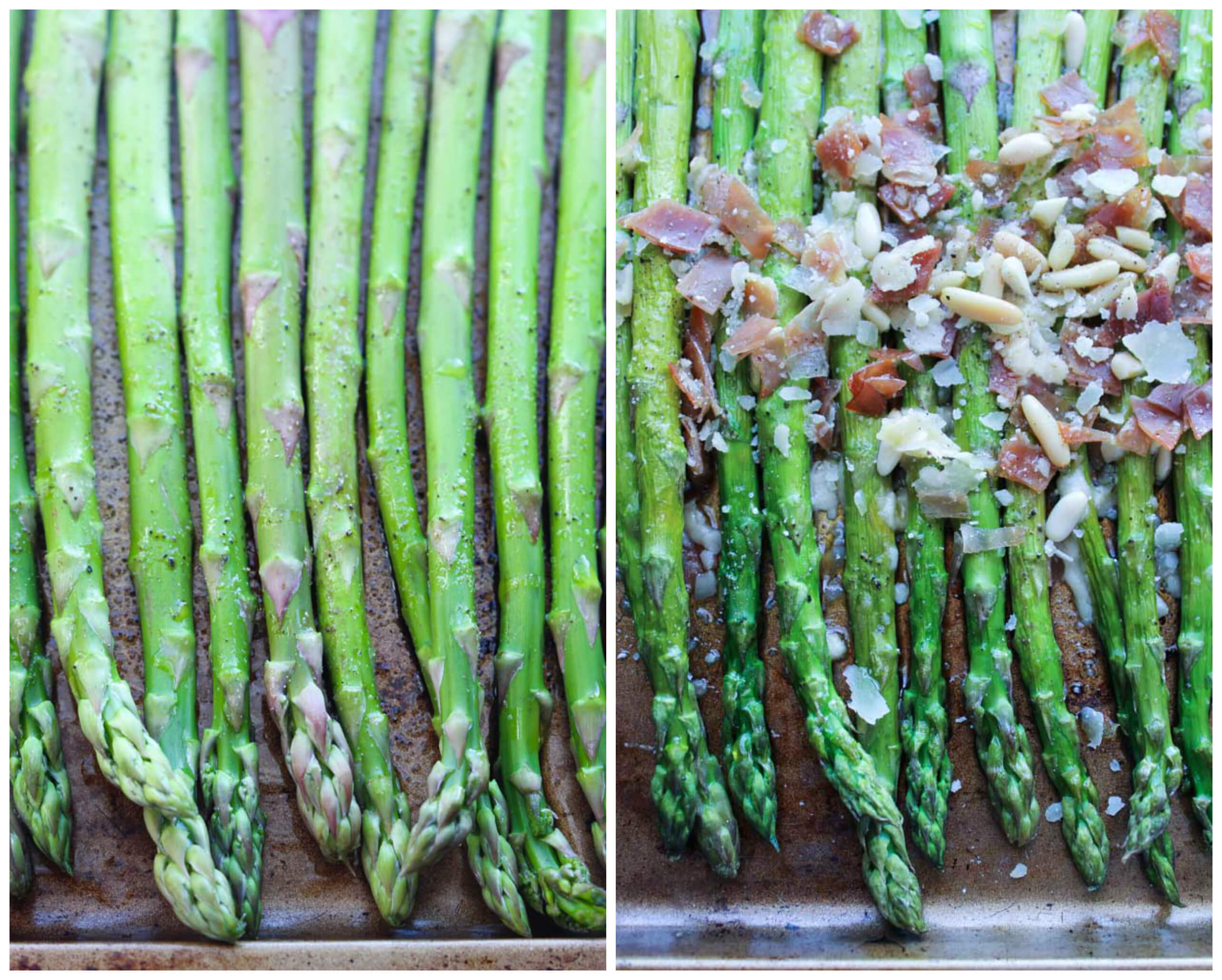 Easy Parmesan and Prosciutto Roasted Asparagus is just that. It's ...
