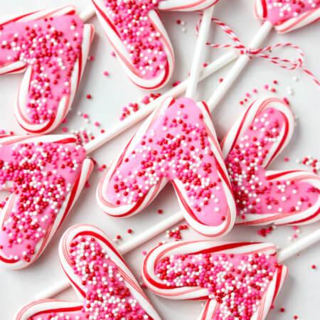 Valentine's Day Candy Pops