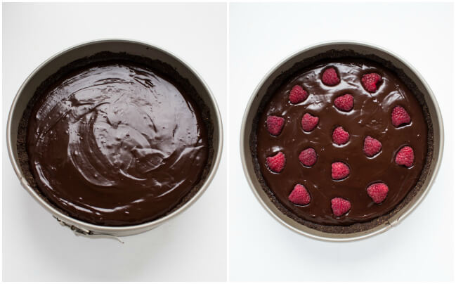 Step by step photos on how to create super easy luscious chocolate tart | littlebroken.com @littlebroken