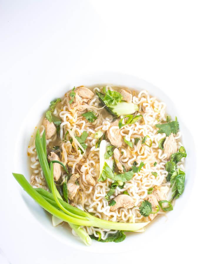 Vietnamese Chicken Noodle Soup - Little Broken