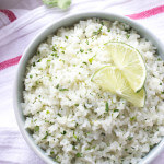 Cilantro-Lime Coconut Rice