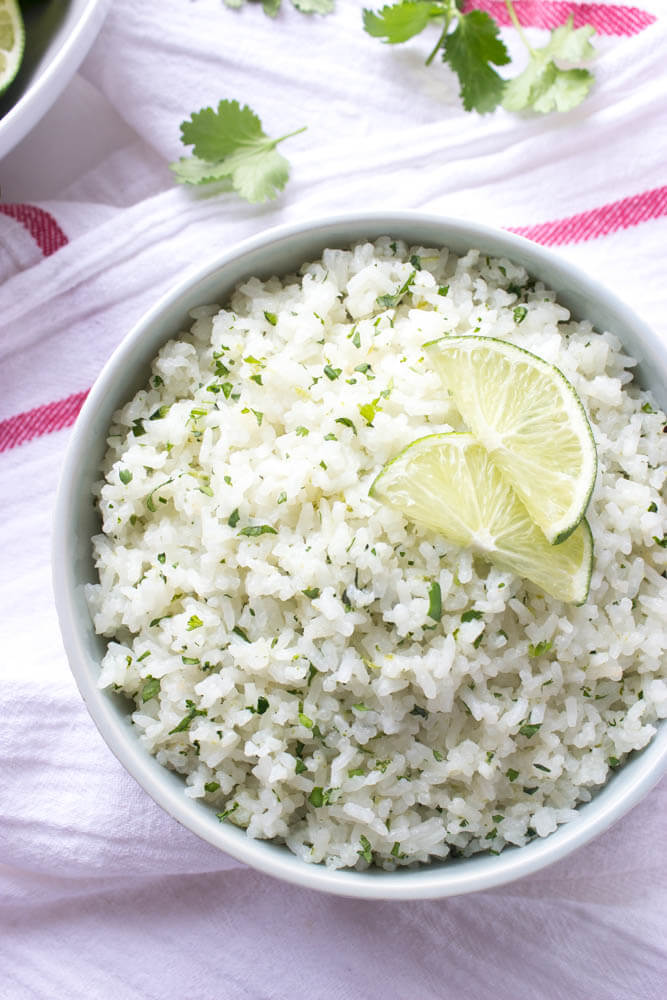 Cilantro-Lime Coconut Rice | Little Broken