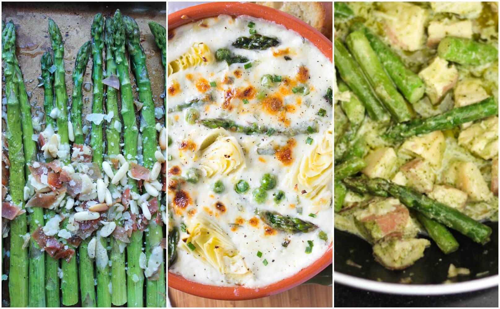 Best asparagus recipes + guide to spring produce | littlebroken.com @littlebroken