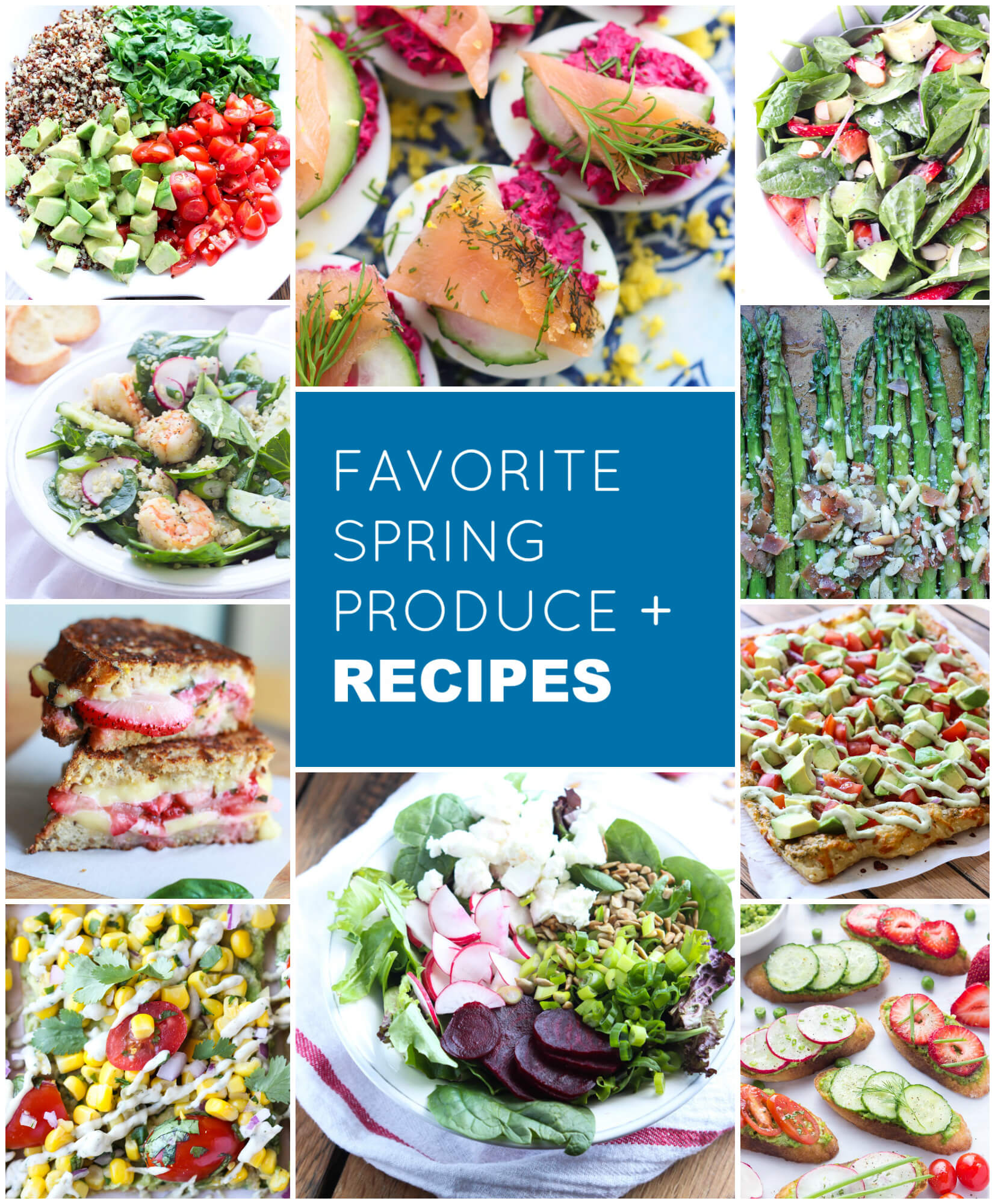 Must have spring produce + recipe ideas | littlebroken.com @littlebroken
