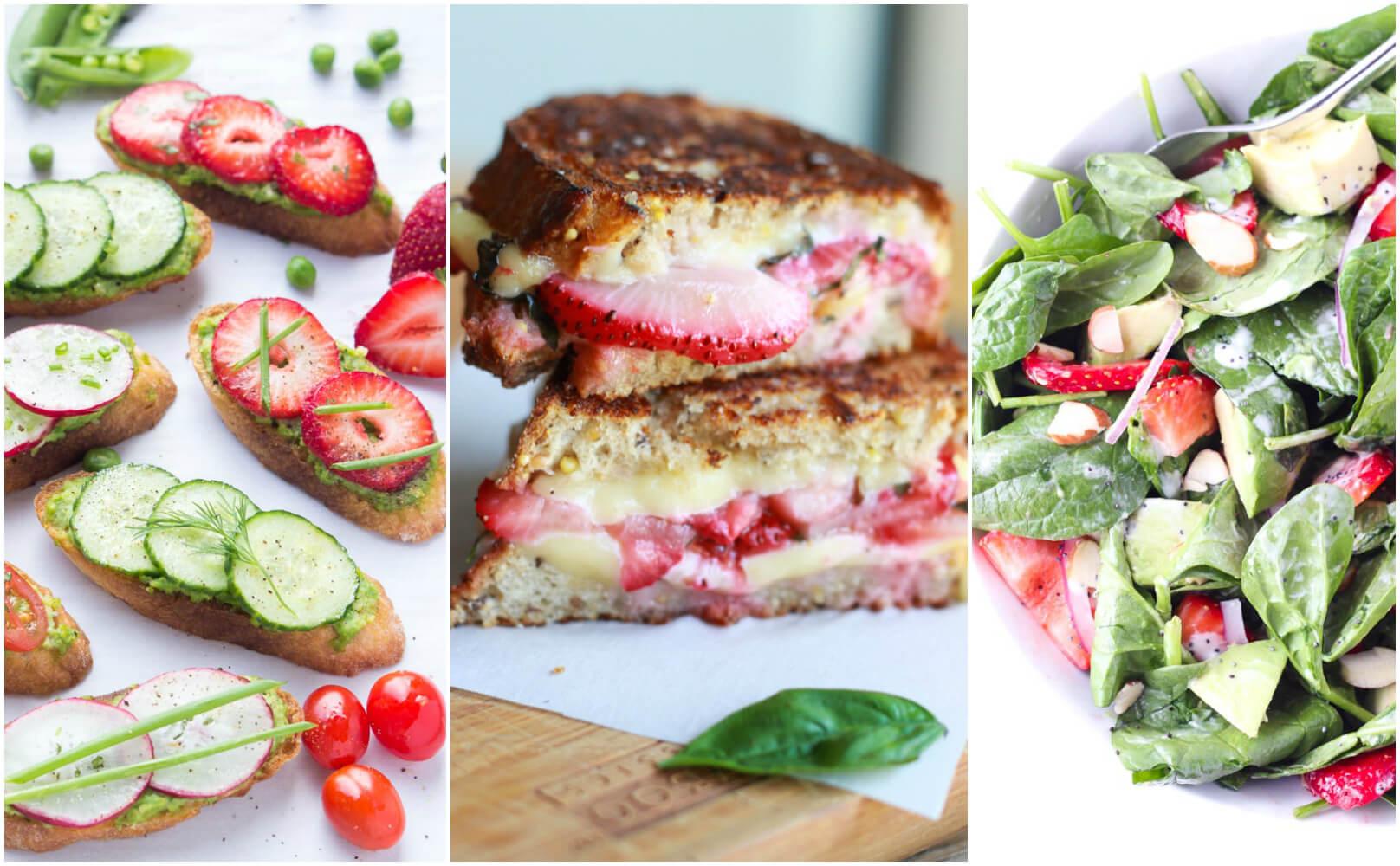 Best strawberry recipes + guide to spring produce | littlebroken.com @littlebroken