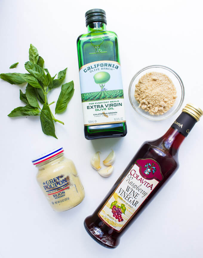 The only salad vinaigrette for all your summer salads! Simple, quick, and out of this world good   littlebroken.com @littlebroken