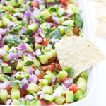 Veggie Loaded 7-Layer Dip