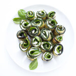 Grilled Herb and Cheese Zucchini Roll-Ups
