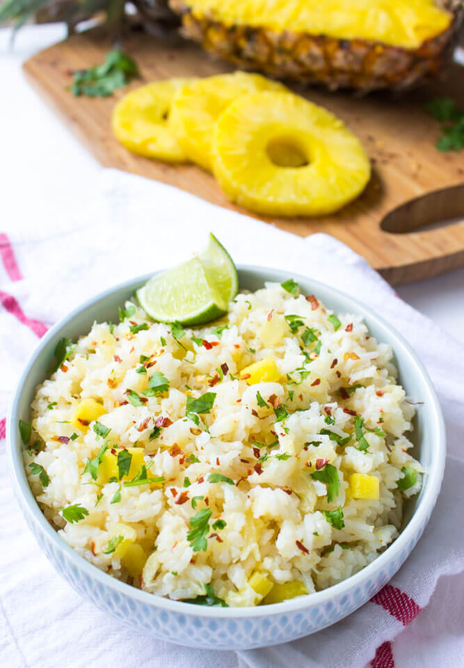 Pineapple rice little broken pineapple rice forumfinder Images