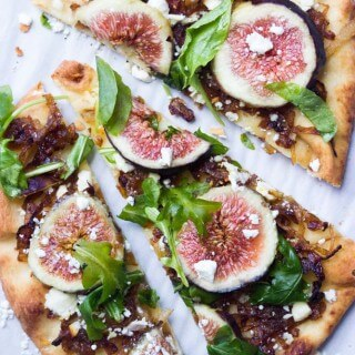 Fig and Caramelized Onion Flatbread