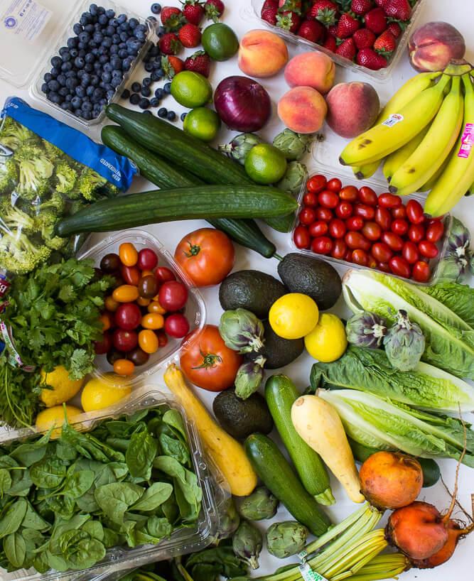 Weekly grocery + recipe ideas for the whole week | littlebroken.com @littlebroken