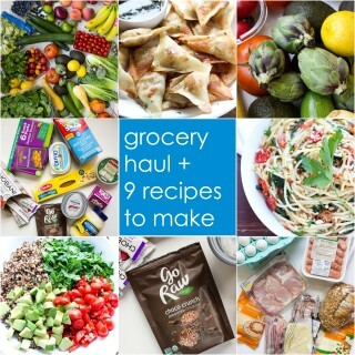 Weekly grocery + recipe ideas for the whole week | littlebroken.com @littlebroken