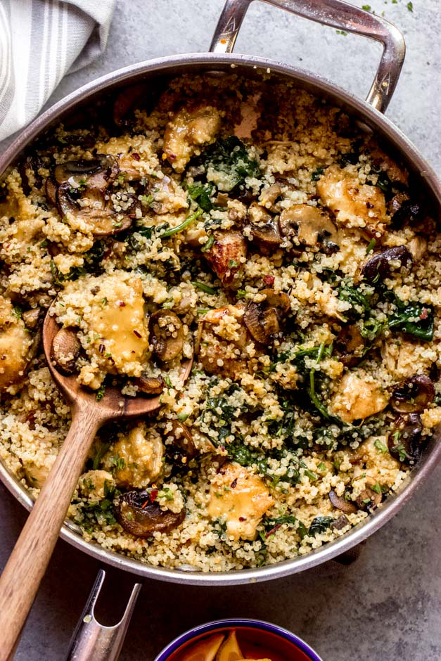 one pan chicken and quinoa