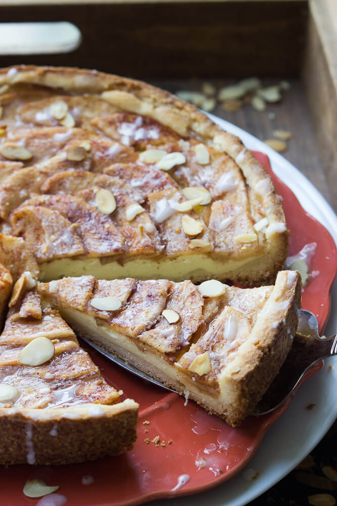 Simple Apple Tart Recipe | Little Broken
