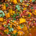 Lentil and Butternut Squash Chili