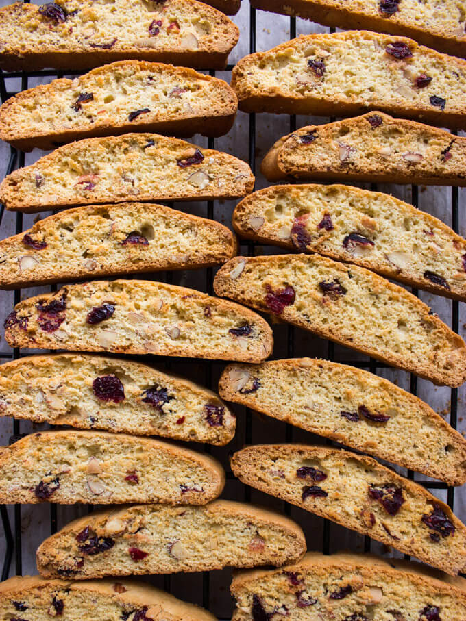 Cranberry Almond Chocolate Biscotti Dipped In Dove Chocolate Recipes ...