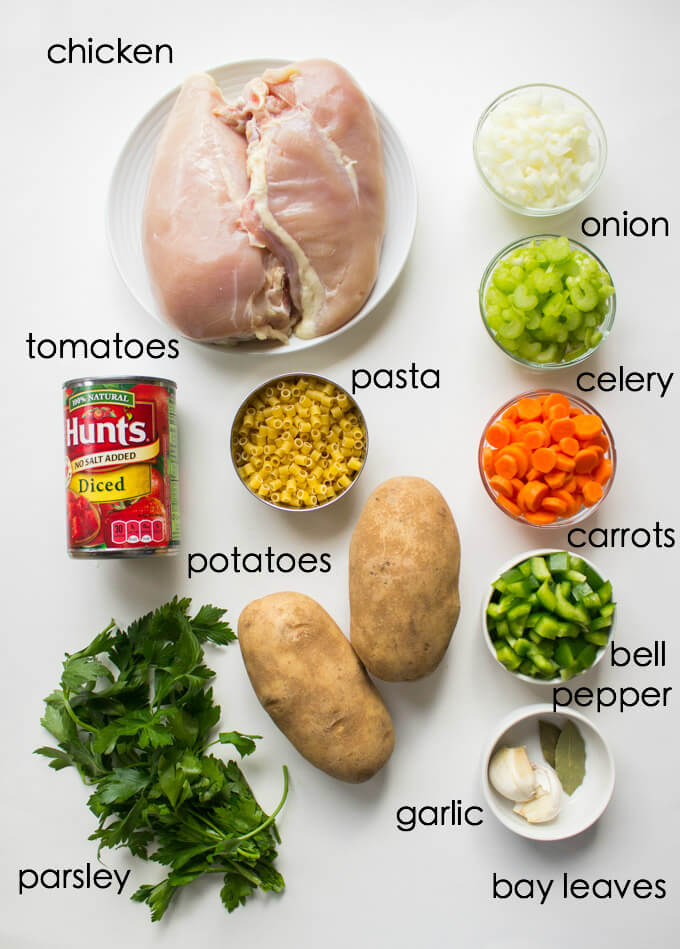 Pasta with Chicken and Veggies picture