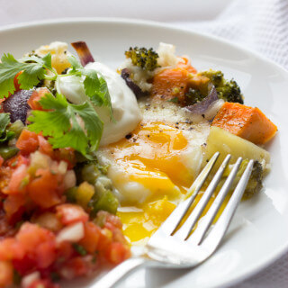 Egg and Veggie Loaded Weekend Casserole