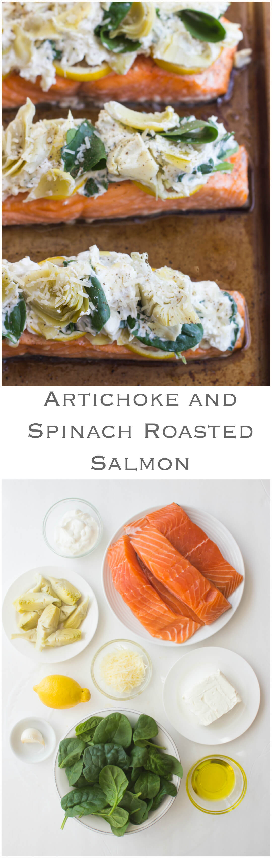 Artichoke And Spinach Roasted Salmon  Oven Roasted Salmon Topped With  Artichoke And Spinach Dip!