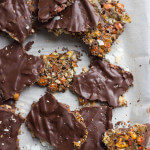 Almond Coconut Chocolate Bark Recipe
