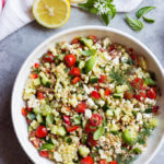 Chopped Farmers Market Farro Salad