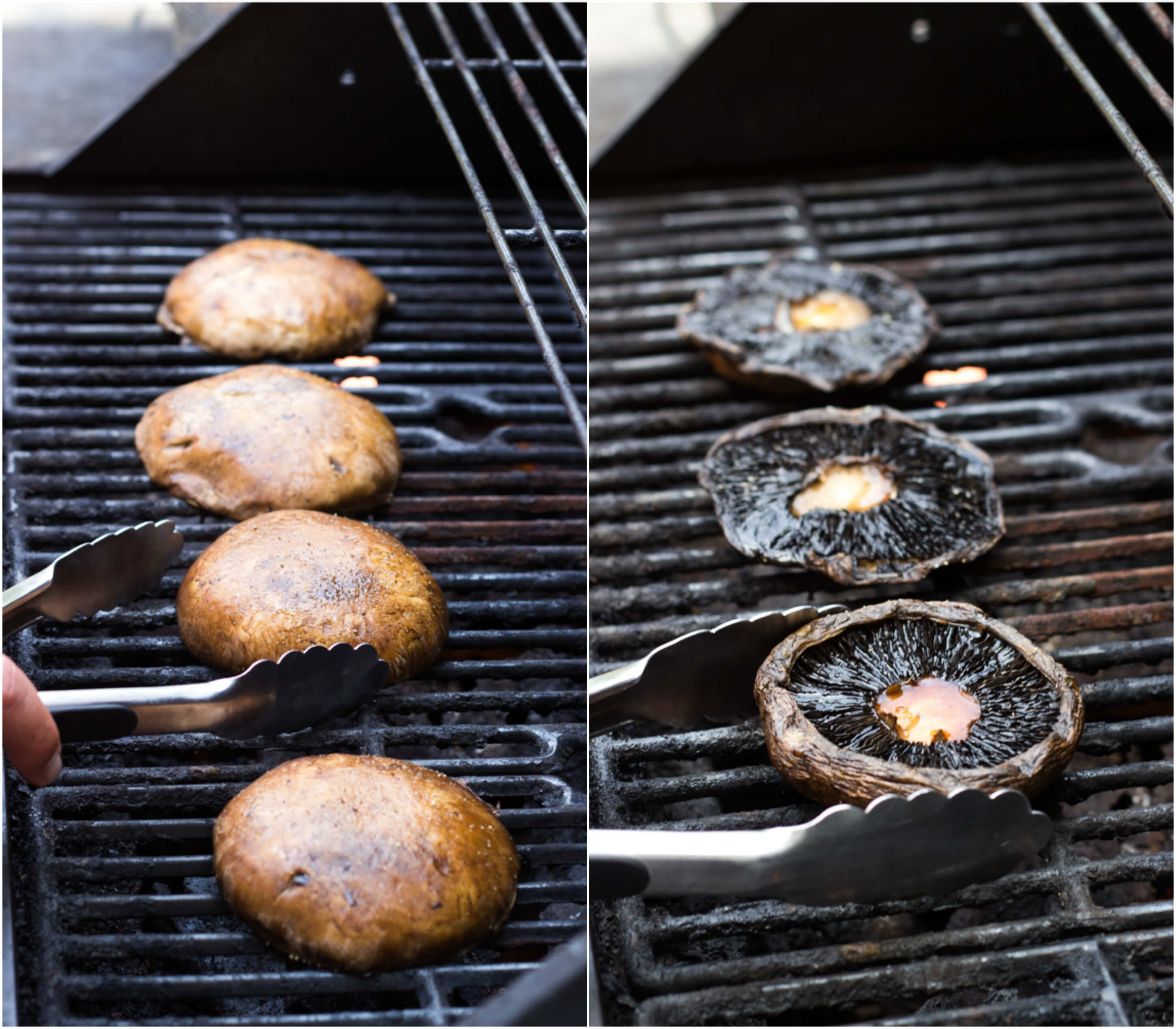 grilled mushrooms portobello