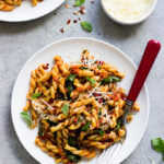 20-Minute Sun-Dried Tomato Pasta with Spinach