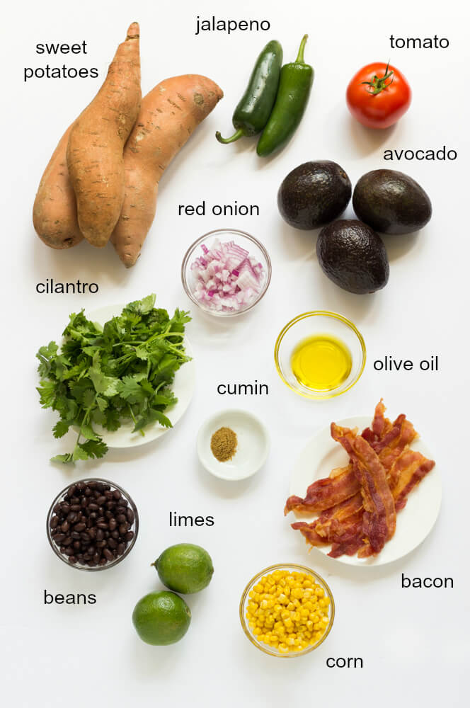 ingredients guacamole