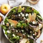 Apple Walnut Salad with Balsamic Vinaigrette