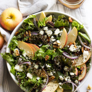 Apple Walnut Salad with Balsamic Vinaigrette