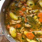 Cooper's Mill + One-Pot Chicken Stew