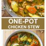chicken stew in dutch oven