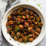 Mini Asian Chicken Meatballs